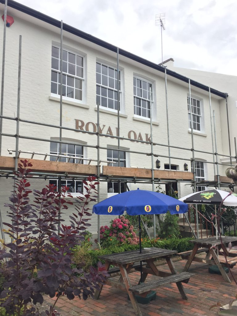 The Royal Oak Tunbridge Wells exterior shot