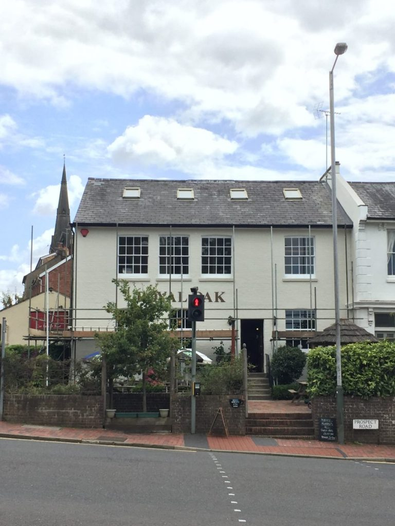 The Royal Oak, Tunbridge Wells exterior shot